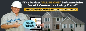 WEB BASED CONTRACTOR SOFTWARE